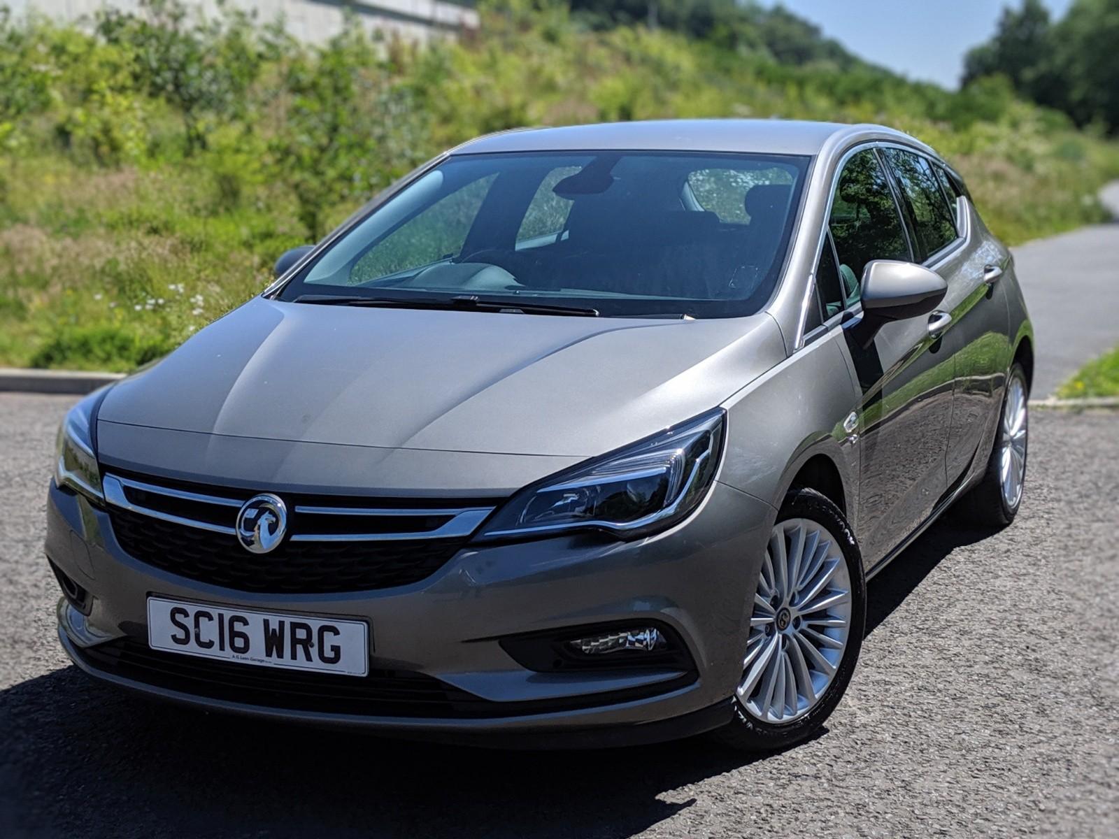 2016 Vauxhall Astra Elite Nav CDTI £9,495