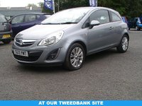USED 2013 13 VAUXHALL CORSA 1.2 SE 3d 83 BHP AT OUR TWEEDBANK SITE