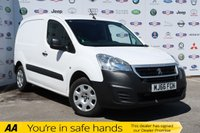 USED 2016 66 PEUGEOT PARTNER 1.6 BLUE HDI PROFESSIONAL L1 1d 100 BHP 1 OWNER,FSH,3 SEAT,AIR CON,DAB