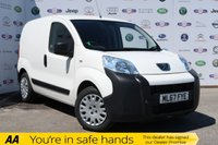 USED 2017 67 PEUGEOT BIPPER 1.2 HDI PROFESSIONAL 1d 79 BHP 1 OWNER,FSH,AIR CON,BLUETOOTH