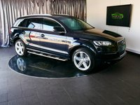 USED 2015 15 AUDI Q7 3.0 TDI QUATTRO S LINE PLUS 5d AUTO 245 BHP £0 DEPOSIT FINANCE AVAILABLE, AIR CONDITIONING, AUTOMATIC HEADLIGHTS, BLUETOOTH CONNECTIVITY, CLIMATE CONTROL, CRUISE CONTROL, DAB RADIO, DAYTIME RUNNING LIGHTS, ELECTRONIC PARKING BRAKE, FULL LEATHER UPHOLSTERY, GEARSHIFT PADDLES, HEATED SEATS, PARKING SENSORS, REVERSE CAMERA, SATELLITE NAVIGATION, STEERING WHEEL CONTROLS, TRIP COMPUTER, XENON HEADLIGHTS