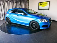 USED 2013 13 MERCEDES-BENZ A CLASS 1.8 A200 CDI BLUEEFFICIENCY AMG SPORT 5d AUTO 136 BHP £0 DEPOSIT FINANCE AVAILABLE, AIR CONDITIONING, AUTOMATIC HEADLIGHTS, BLUETOOTH CONNECTIVITY, CLIMATE CONTROL, CRUISE CONTROL, DAYTIME RUNNING LIGHTS, ELECTRONIC PARKING BRAKE, GEARSHIFT PADDLES, HILL START ASSIST, PRIVACY GLASS, START/STOP SYSTEM, STEERING WHEEL CONTROLS, TRIP COMPUTER, USB INPUT