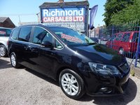 2013 SEAT ALHAMBRA 2.0 TDI CR SE LUX DSG 5d AUTO 177 BHP £10495.00