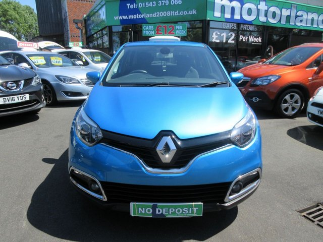 USED 2014 64 RENAULT CAPTUR 1.5 DYNAMIQUE MEDIANAV ENERGY DCI S/S 5d 90 BHP **NO DEPOSIT FINANCE **