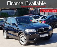USED 2012 12 BMW X3 2.0 XDRIVE20D SE 5d AUTO 181 BHP ONLY ONE KEEPER FROM NEW+FULL SERVICE HISTORY