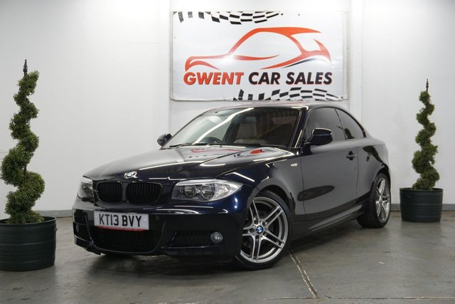 USED 2013 13 BMW 1 SERIES 2.0 120D SPORT PLUS EDITION 2d 175 BHP GREAT BMW WITH FULL BIEGE LEATHER INTERIOR  FINANCE AVAILBLE