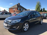 USED 2015 15 VAUXHALL ASTRA 1.7 CDTI SRI 5d 110 BHP WITH SAT NAV, AIR CON AND VAUXHALL HISTORY NO DEPOSIT PCP/ECP/HP FINANCE ARRANGED, APPLY HERE NOW