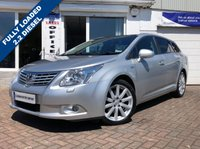 USED 2010 60 TOYOTA AVENSIS 2.2 T SPIRIT D-CAT 5d AUTO 148 BHP SUPPLIED WITH 12 MONTHS MOT, LOVELY CAR TO DRIVE