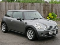 USED 2010 10 MINI HATCH COOPER 1.6 COOPER D GRAPHITE 3d 108 BHP