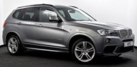 USED 2013 62 BMW X3 3.0 30d M Sport xDrive 5dr Pro Media, Pan Roof, Xenons ++