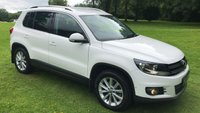 USED 2012 61 VOLKSWAGEN TIGUAN 2.0 SE TDI BLUEMOTION TECHNOLOGY 4MOTION 5d 138 BHP ***EXCELLENT FINANCE AVAILABLE***FULL STAMPED SERVICE HISTORY**SELF PARK SYSTEM**