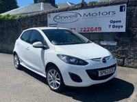 USED 2013 63 MAZDA 2 1.3 TAMURA 5d 83 BHP FINANCE AVAILABLE+2 OWNERS FROM NEW+FULL SERVICE HISTORY