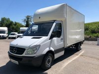 USED 2013 13 MERCEDES-BENZ SPRINTER 313 CDI 13ft 6 LUTON TAIL LIFT *SIX MONTHS AA WARRANTY*