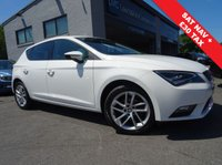 USED 2016 16 SEAT LEON 1.2 TSI SE DYNAMIC TECHNOLOGY 5d 109 BHP 1 OWNER FROM NEW WITH FULL SERVICE HISTORY