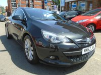 USED 2013 62 VAUXHALL ASTRA 2.0 GTC SRI CDTI S/S 3d 162 BHP GREAT FINANCE DEALS AVAILABLE