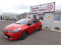 USED 2013 63 RENAULT CLIO 0.9 DYNAMIQUE MEDIANAV ENERGY TCE S/S 5 DOOR 90 BHP £28 PER WEEK, NO DEPOSIT - SEE FINANCE LINK