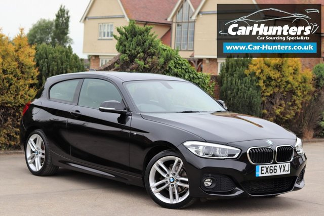 2016 66 BMW 1 SERIES 2.0 118D M SPORT 3d AUTO 147 BHP