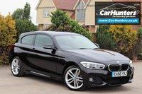 USED 2016 66 BMW 1 SERIES 2.0 118D M SPORT 3d AUTO 147 BHP