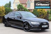 USED 2015 15 AUDI A6 2.0 TDI ULTRA BLACK EDITION 4d AUTO 188 BHP