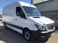 USED 2017 17 MERCEDES-BENZ SPRINTER 314CDI MWB H/R 140 BHP 6 SPEED FACELIFT MODEL