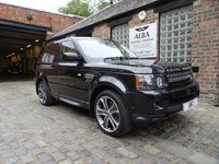 USED 2013 13 LAND ROVER RANGE ROVER SPORT 3.0 SDV6 HSE BLACK 5d AUTO 255 BHP (Only Covered 48500 Miles)
