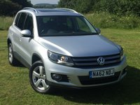 2012 VOLKSWAGEN TIGUAN 2.0 SE TDI BLUEMOTION TECHNOLOGY 4MOTION DSG 5d AUTO 138 BHP £8495.00