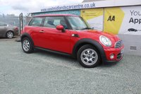 2013 MINI HATCH COOPER 1.6 COOPER 3d 122 BHP PETROL RED  £7490.00