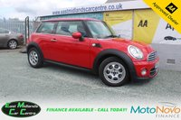 USED 2013 63 MINI HATCH COOPER 1.6 COOPER 3d 122 BHP PETROL RED  WOWWOW WOW L@@K AT THE MILEAGE + SERVICE HISTORY + 2 OWNERS FROM NEW