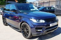 USED 2014 LAND ROVER RANGE ROVER SPORT 3.0 SDV6 HSE 5d AUTO 288 BHP GREAT SPEC