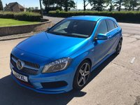 2013 MERCEDES-BENZ A CLASS 2.0 A250 BLUEEFFICIENCY ENGINEERED BY AMG 5d AUTO 211 BHP £15995.00