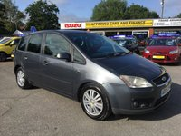 2005 FORD C-MAX 1.6 C-MAX GHIA 5d 110 BHP MANUAL IN DARK METALLIC GREY WITH ONLY 134000 MILES ( TRADE CLEARANCE ) £1000.00