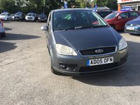 USED 2005 05 FORD C-MAX 1.6 C-MAX GHIA 5d 110 BHP MANUAL IN DARK METALLIC GREY WITH ONLY 134000 MILES ( TRADE CLEARANCE ) APPROVED CARS ARE PLEASED TO OFFER THIS FORD C-MAX 1.6 GHIA 5D 110BHP IN DARK METALLIC GREY WITH ONLY 134000 MILES AND A VERY LONG MOT IN GOOD CONDITION INSIDE AND OUT WITH A VERY LONG MOT AND A PART SERVICE HISTORY BUT DUE TO ITS AGE IS BEING OFFERED AS A TRADE CLEARANCE CAR WITH MOT.
