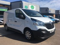 2015 RENAULT TRAFIC 1.6 SL27 BUSINESS ENERGY DCI S/R P/V 1d 120 BHP £7500.00