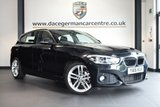 """USED 2016 16 BMW 1 SERIES 1.5 116D M SPORT 5DR 114 BHP excellent service history * NO ADMIN FEES * FINISHED IN STUNNING SAPPHIRE METALLIC BLACK WITH ANTHRACITE UPHOLSTERY + EXCELLENT SERVICE HISTORY + SATELLITE NAVIGATION + BLUETOOTH + DAB RADIO + CRUISE CONTROL + LED HEADLIGHTS + SPORT SEATS + RAIN SENSORS + PARKING SENSORS + 18"""" ALLOY WHEELS"""