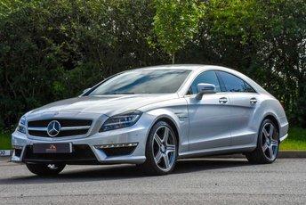 2011 MERCEDES-BENZ CLS CLASS 5.5 CLS63 AMG 4d AUTO 525 BHP