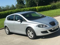 USED 2008 57 SEAT LEON 1.6 REFERENCE 5d 101 BHP