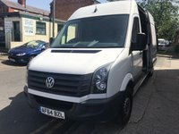 USED 2014 64 VOLKSWAGEN CRAFTER 2.0 CR35 TDI H/R P/V 1d 135 BHP