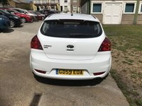 USED 2010 59 KIA CEED 1.4 PRO CEED STRIKE 3d 89 BHP ONE LADY OWNER WITH SERVICE RECORDS