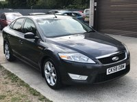 USED 2008 58 FORD MONDEO 2.0 ZETEC TDCI 5d 140 BHP LOW MILEAGE WITH FULL SERVICE HISTORY