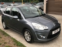 USED 2011 11 CITROEN C3 1.4 VTR PLUS 5d 72 BHP PAN ROOF + LOTS OF SERVICE HISTORY
