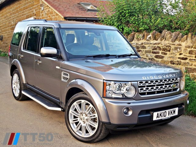 2010 10 LAND ROVER DISCOVERY 3.0 4 TDV6 HSE 5d AUTO 245 BHP