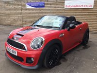 2013 MINI ROADSTER 1.6 COOPER S 2d 181 BHP JOHN COOPER WORKS £8999.00