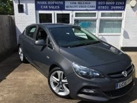 2015 VAUXHALL ASTRA 1.6 LIMITED EDITION 5d £7995.00