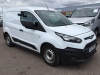 USED 2015 15 FORD TRANSIT CONNECT 1.6 200 P/V 1d 74 BHP One Owner - 3 Seat Cab - Air Conditioning