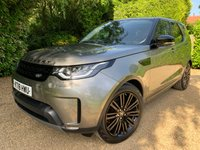 USED 2018 18 LAND ROVER DISCOVERY 3.0 TD6 HSE LUXURY 5d AUTO 255 BHP