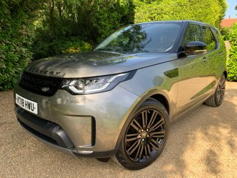 2018 LAND ROVER DISCOVERY 3.0 TD6 HSE LUXURY 5d AUTO 255 BHP £51949.00