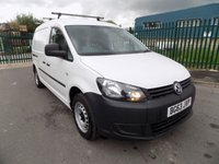 USED 2013 63 VOLKSWAGEN CADDY MAXI 1.6 C20 TDI STARTLINE BLUEMOTION TECHNOLOGY 1d 101 BHP SAT NAV, AIR CON, CRUISE CONTROL, FULL SERVICE HISTORY, 1 OWNER