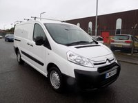 USED 2015 64 CITROEN DISPATCH 2.0 1200 L2H1 ENTERPRISE HDI 1d 126 BHP 2.0 Engine, Long Wheel Base, Air Condtioning, One Owner