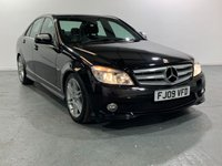 USED 2009 09 MERCEDES-BENZ C CLASS 2.1 C220 CDI SPORT 4d 168 BHP TOP SPEC VEHICLE WITH MANY EXTRAS