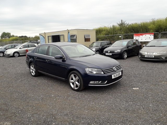 2011 11 VOLKSWAGEN PASSAT 1.6 SE TDI BLUEMOTION TECHNOLOGY 4d 104 BHP LOW MILEAGE WITH HISTORY